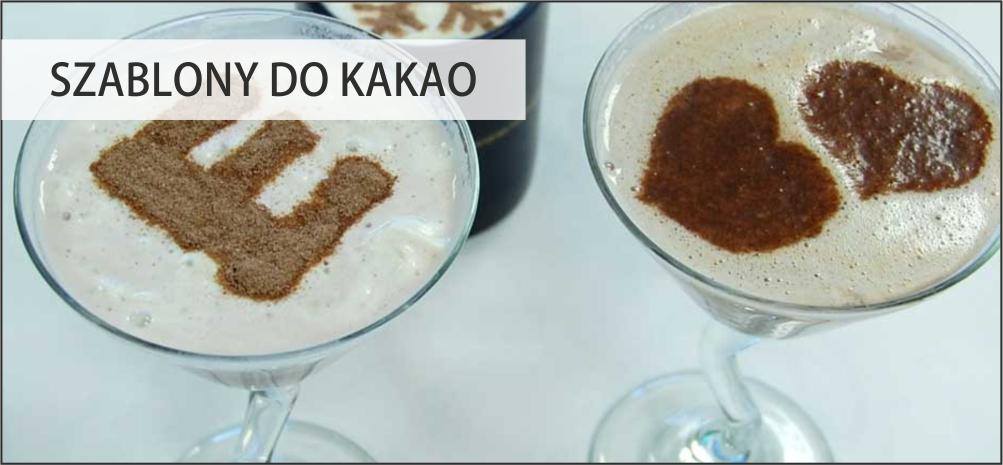 Szablony do kakao/kawy